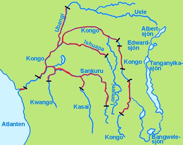Afrikas sjöar spel
